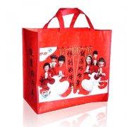 红色礼品 覆膜袋