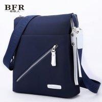 黑蓝色帆布包